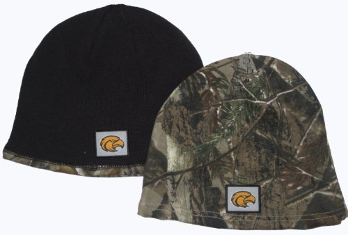 (The Game NCAA Licensed Realtree Camo Reversible Beanie Hat (Southern Mississippi Golden Eagles) )