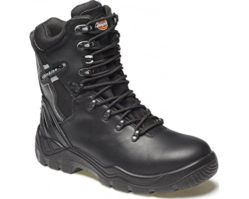 Dickies FD23376–6Quebec sfoderato scarpa di sicurezza, taglia 6, nero