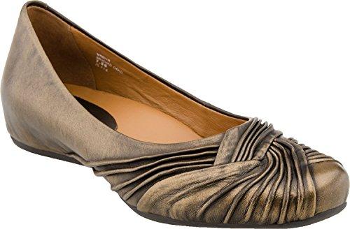 Earthies Women's Brushed Gold Vanya 9 B(M) (Brushed Gold Footwear)