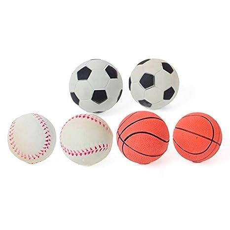 N Set 2 pelotas gomaespuma dura mix deportes: Amazon.es: Productos ...
