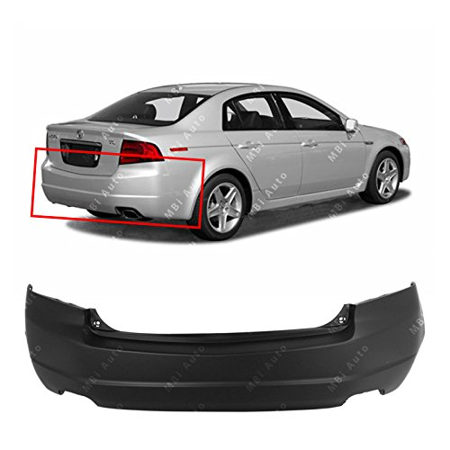 - MBI AUTO - Primered, Rear Bumper Cover Replacement for 2004 2005 2006 Acura TL 04-06, AC1100146