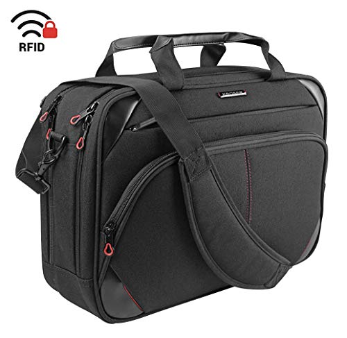 abbe7e93ed KROSER Laptop Bag 15.6 Inch Laptop Briefcase Laptop Messenger Bag Water  Repellent Computer Case Laptop Shoulder