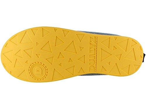 Unisex Grey Kush Light Removable Yellow With Slipper Classic Dualyz Sole 8vdxqHw4v