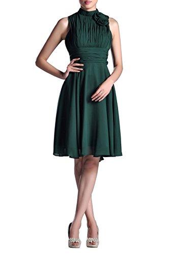 Cocktail Out Rose Evening amp; Women Short Chiffon Natrual Formal Night Dusty Knee Adorona Dresses wtUfq5nTOx