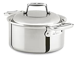 Amazon Com All Clad Sd7530356 D7 18 10 Stainless Steel 7
