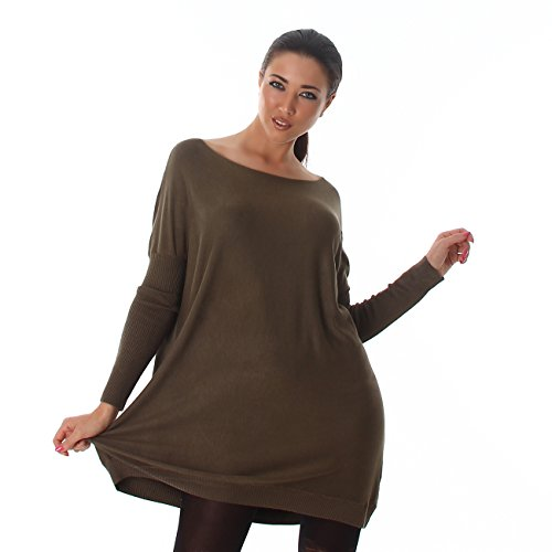 Voyelles - Jerséi - para mujer verde oliva