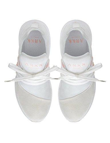 White E15 Raven Women's Sneakers ARKK S Copenhagen Women's White IRqnnw8Ux