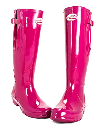 Wellies Gloss Original Magenta Tall Rockfish zxdw1q88