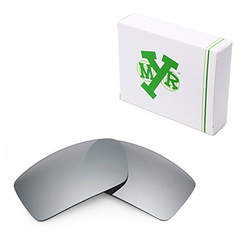 Mryok Polarized Replacement Lenses for Oakley Gascan - Silver - Replacement Gascan Lenses
