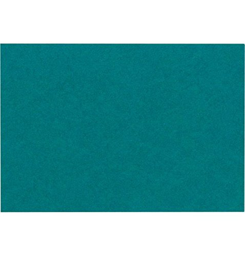 A7 Flat Card (5 1/8 x 7) - Teal (1000 Qty.) by Envelopes Store