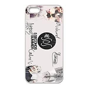 5 Seconds Of Summer Fashion Comstom Plastic Case For HTC One M7 Cover