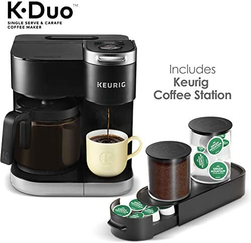 Keurig K Duo Coffee Station Storage