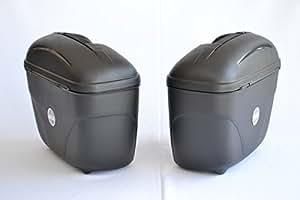 Givi E21N Caja Lateral, Color Negro, 2 Piezas