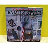 American Family Style, Mary R. Carter, 0670818062