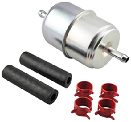 Amazon.com: Hastings Filters GF1 In-Line Fuel Filter with Clamps and