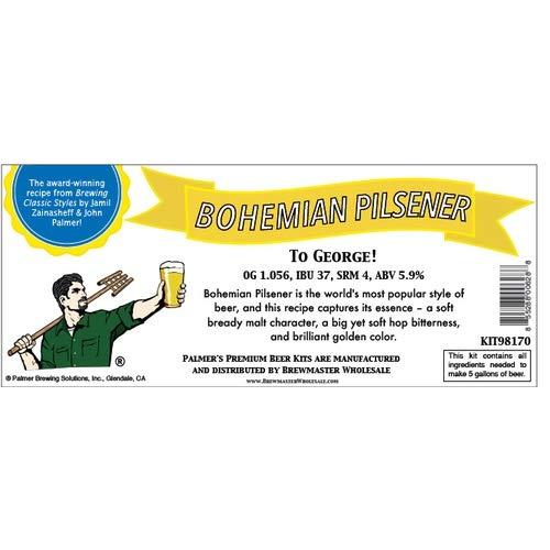 (Palmer Premium Beer Kits - To George - Bohemian Pilsener)