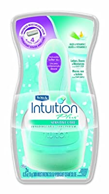 Schick Intuition Plus Shaving