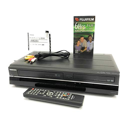 - Toshiba DVD VCR Combo DVR620KU (2012 Model Discontinued) VHS to DVD Transfer