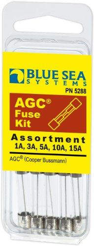 - Blue Sea Systems AGC Fuse Kit (5-Piece)