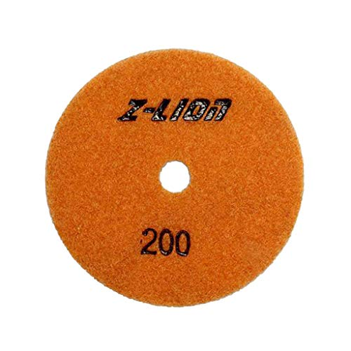 d Polishing Pads,3'' Polishing Pad Set,Polishing Pads for Granite - Grit 200 ()
