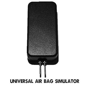 ghfcffdghrdshdfh Herramienta de diagnóstico del Coche Universal Airbag Simulador del emulador de reparación Detector de Paso