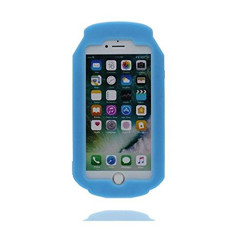"""Apple iPhone 6 Plus Coque (5.5""""), [ canette Can de matériau TPU souple ] iPhone 6s Plus étui (5.5 pouces), poussière glissement résistant aux rayures, iPhone 6 Plus Case et Bouchon anti-poussière"""