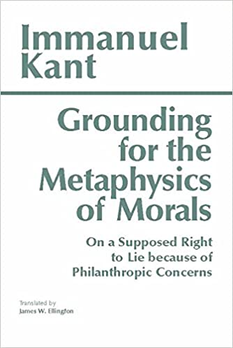 kant groundwork of the metaphysics of morals quotes