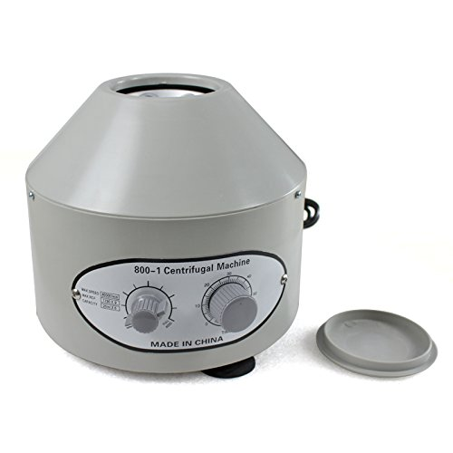 Zeny Desktop Electric Centrifuge Lab (Timer 0-60min) 0-4000 Rpm Cap:20ml X 6 Tube (800-1) 110v