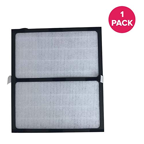 Crucial Air Replacement Air Purifier Filter Compatible with Idylis Part # IAF-H-100D, Fits Idylis D Air Purifier Filter IAP-10-280 Model, for Home & Office - Air Purifier to Reduce Room Odor (1 Pack)