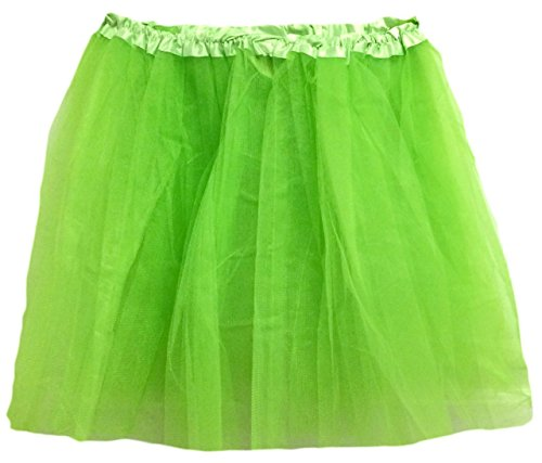 Hairbows Unlimited Lime Green Adult Teen Ballet Dance Tutu Skirt