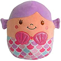 "Squishmallows~ Soft Plush Character Pillow (Denise Mermaid 16"")"