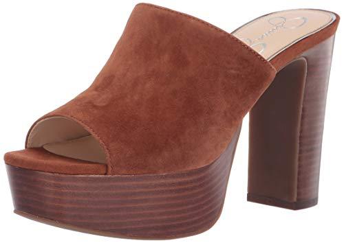- Jessica Simpson Women's CAMREE Sandal, Toasted Tan, 10 M US