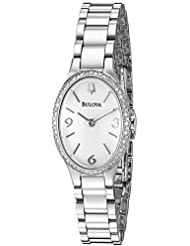 Bulova Women's 96R191 Analog Display Quartz Silver Watch