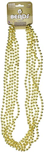 (Morris 56454 Beads 33In 7 1/2Mm Gold)