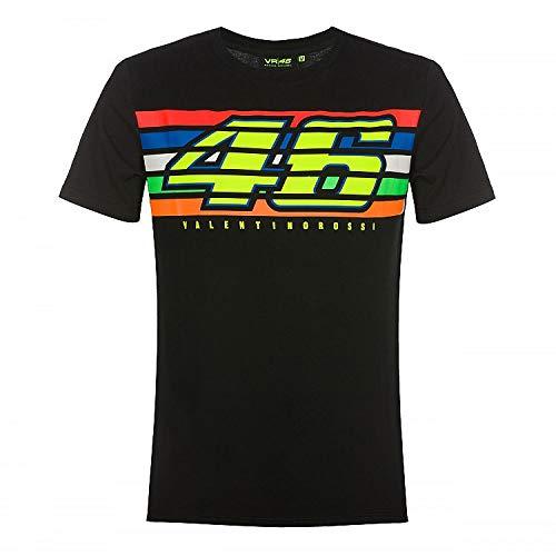 Valentino Rossi Vr46 Classic-Stripes L Schwarz