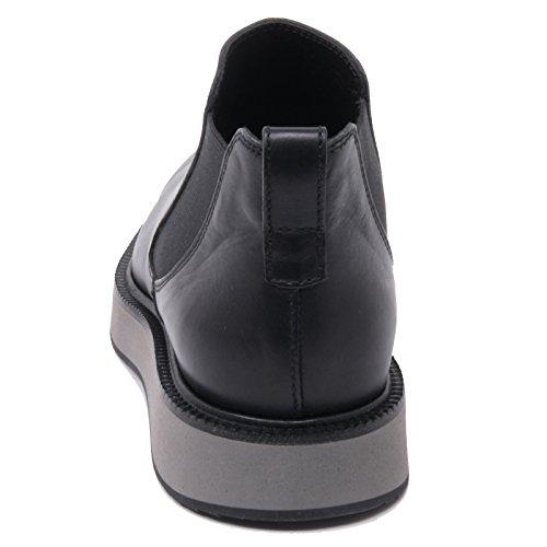 B4881 polacchino uomo HOGAN H271 ROUTE X stivaletto elastico nero boot shoe man Nero