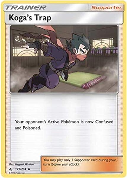 NM Janine 176//214 Uncommon Pokemon Card Unbroken Bonds Set