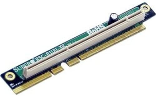 Supermicro Accessory RSC-R1UU-XR 1U 1 PCI-X Right Slot Riser Card For Chassis SC815U//SC812U