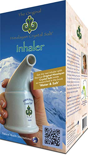 Original Himalayan Crystal Salt Inhaler for Bronchial and Lung Health