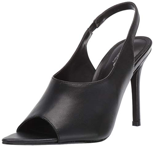 CHARLES BY CHARLES DAVID Women's Trapp Heeled Sandal, Black, 8 M US