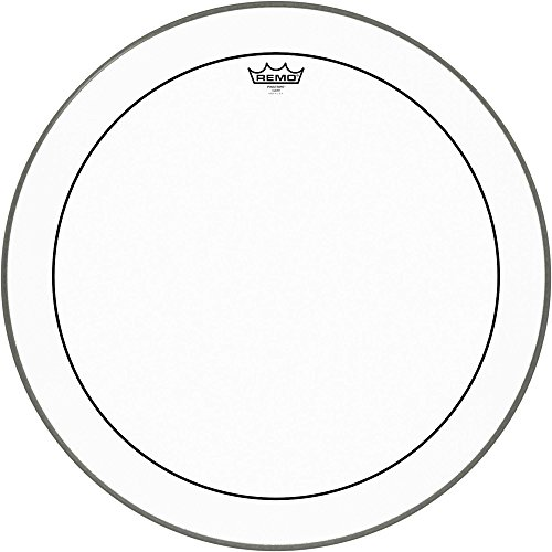 Remo PS1324-00 Clear Pinstripe Bass Drum Head (24-Inch)