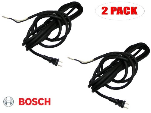 Bosch 11304 Demo Hammer Replacement 14g 2 wire Power Cord # 3604460515 (2 PACK)