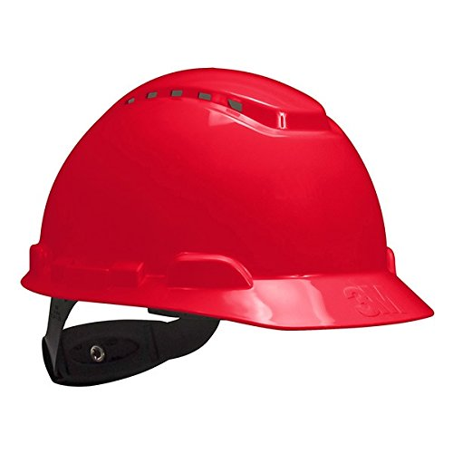3M Hard Hat, Vented with 4-Point Ratchet Suspension, H-70...