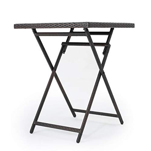 Marinelli Outdoor Multibrown Wicker Bar Table by Christopher Knight Home (Image #8)