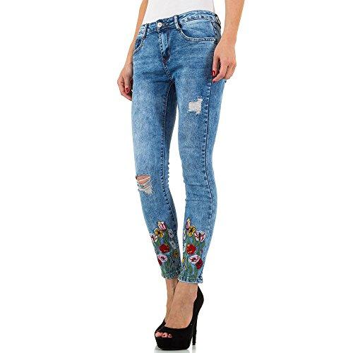 Skinny Blau Donna Ital design Jeans pqw00P