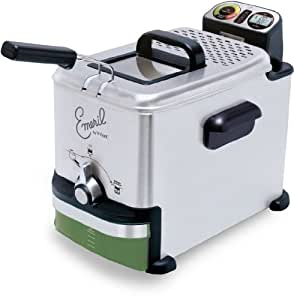 Emeril by T-fal FR701 3.3-Liter Advanced Oil Control Deep Fryer with EZ Clean Filter, 2.65-Pound, Silver
