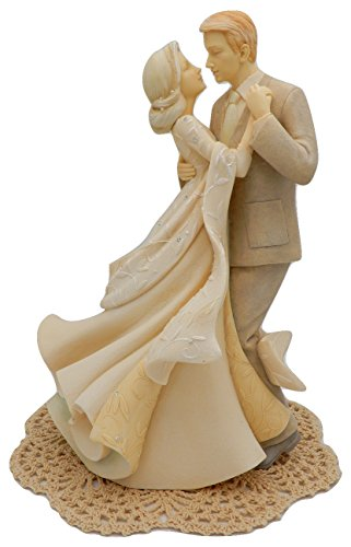 Couples Costume Birth (Enesco Foundations Family and Wedding Figurines with Westbraid Doily (Anniversary Couple Dancing))