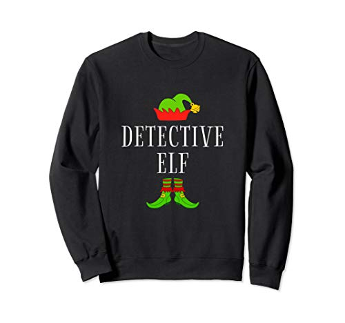 Detective Costume Ideas (Detective Elf Costume Funny Christmas Xmas Holiday Matching)