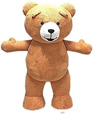 Adult Teddy Bear Mascot Costume Halloween Costumes