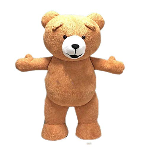 Adults Inflatable Teddy Bear Mascot Costume for Theme Park and Party Funny Mascots -